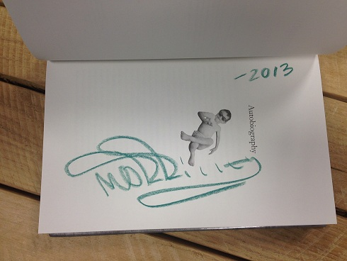 Morrissey Signed Autobiography
