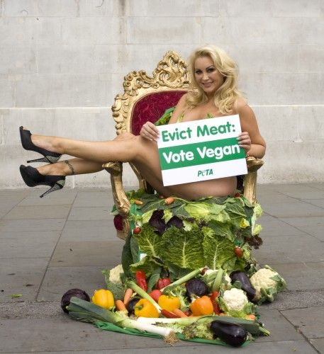 "Victoria Eisermann ""Evict Meat, Vote Vegan"""