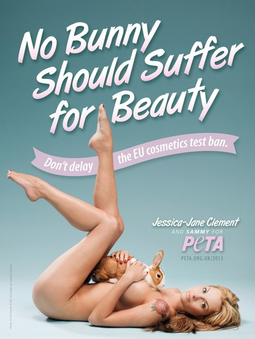 No Bunny Should Suffer for Beauty