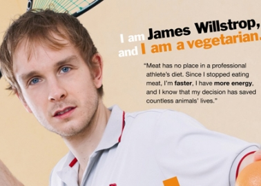 James Willstrop Asks You to 'Squash Obesity' by Going Vegetarian