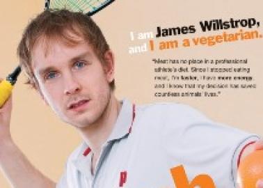 Vegetarian Athlete James Willstrop Competes in Delhi