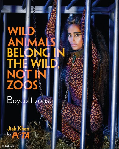 Jiah Khan for PETA