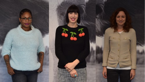 Wool-free jumpers for winter
