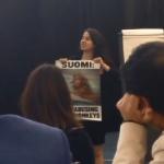 PETA Protester at NIH Speech