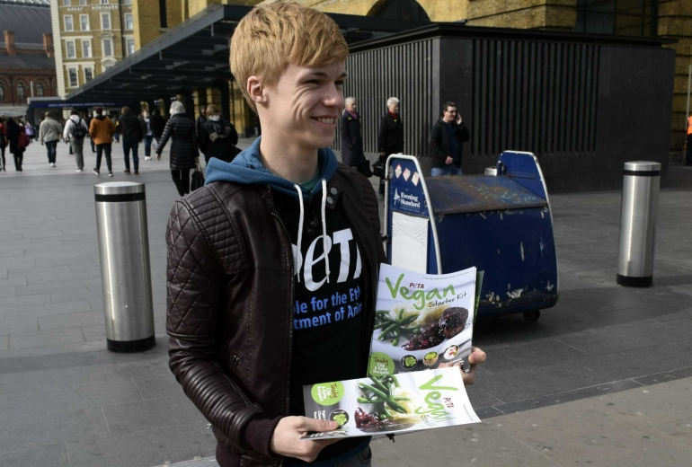 Matthew Leafleting VSK