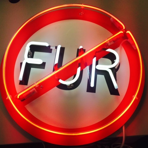 No fur sign