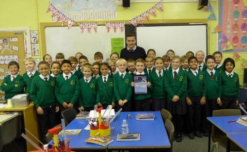Teacher gets Compassionate Award for orca education