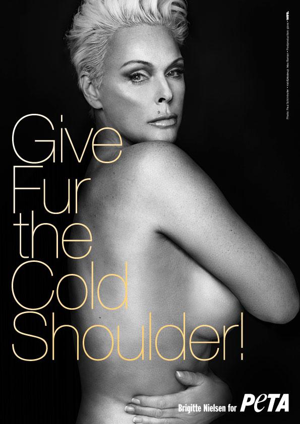 Brigitte Nielsen: Give Fur the Cold Shoulder