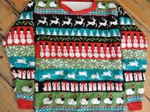 PETA Knitting Pattern Christmas Jumper