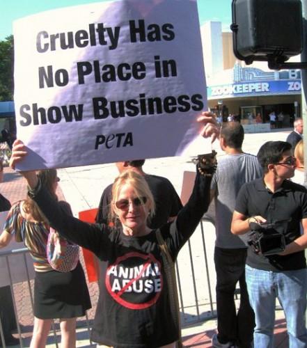 PETA US Zookeeper Demo 2
