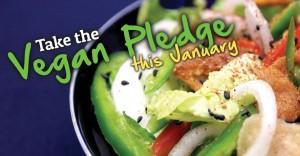 Take the vegan Plegde