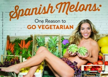 Model Elen Rivas: Choose Melons Over Meat