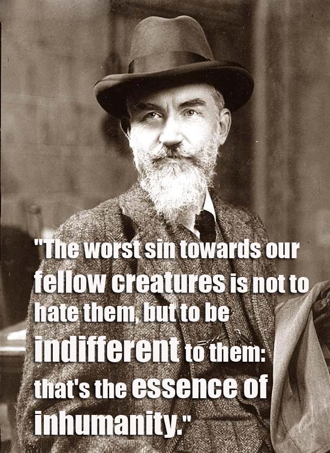 QUOTE Bernard Shaw