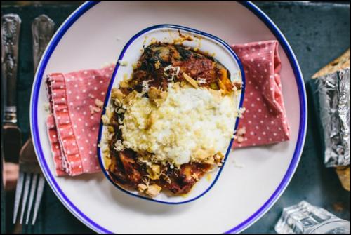 Vegan Roasted Tomato Lasagne