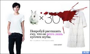Olga Shelest speaks out against cruel fur industry