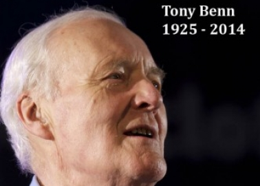 Tony Benn Will Be Missed