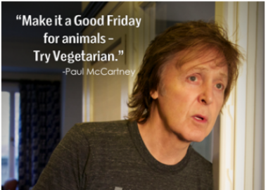 Paul McCartney's Easter Appeal