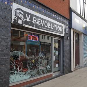 Vegan cafe in Manchester