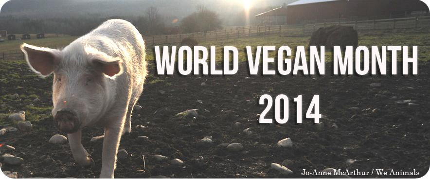 World Vegan Month PETA Pledge