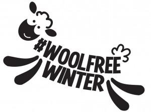 PETA Wool-Free Winter Logo
