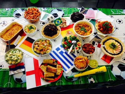 World Cup potluck