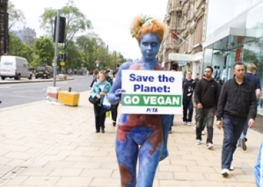 'Mother Earth' Says, 'Save the Environment: Go Vegan'