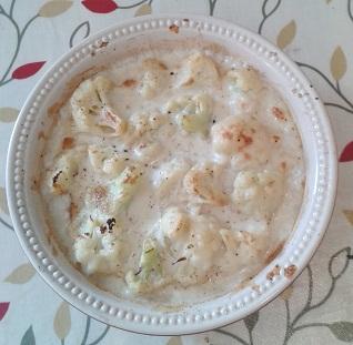 Creamy Vegan Cauliflower Cheese