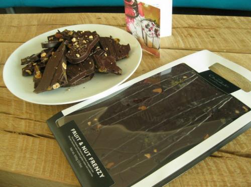 Hotel Chocolat's Fruit and Nut Frenzy Giant Slab