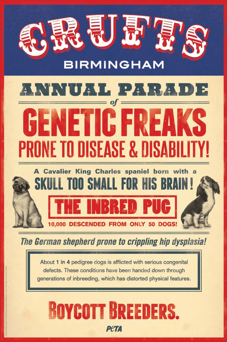 Crufts Genetic Freaks Poster