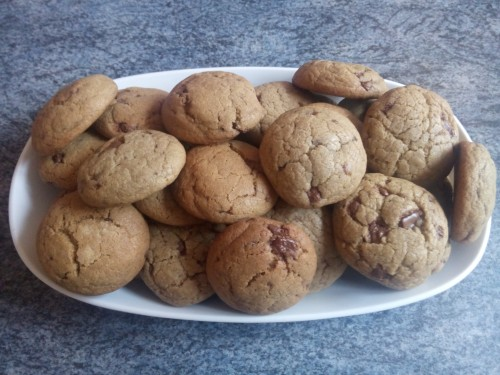 Choc chip cookies (Chas)