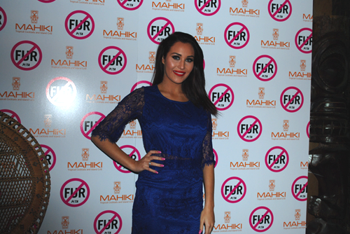 PETA Mahiki Fur Free Party - Chloe Goodman