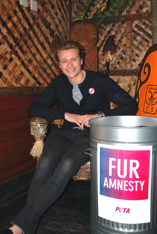 PETA Mahiki Fur Free Party - Henry Rogers