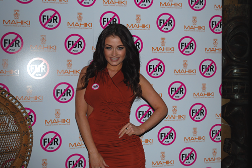 PETA Mahiki Fur Free Party - Jess Impiazzi