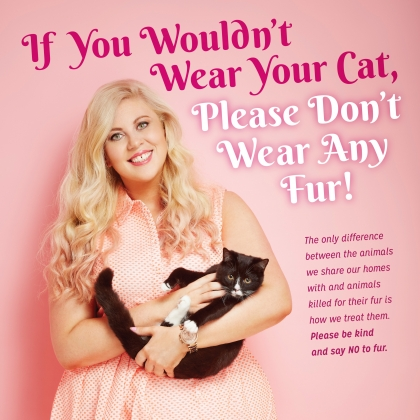 Sprinkle of Glitter: If You Wouldn't Wear Your Cat, Please Don't Wear Any Fur!