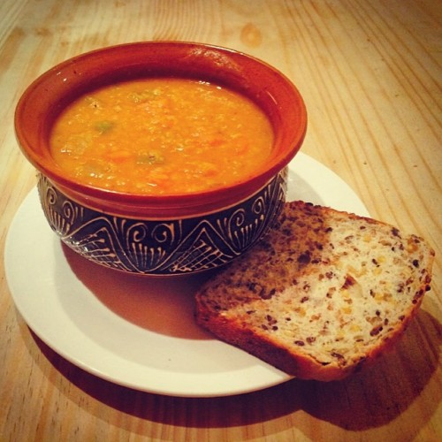 Vegan Orange Lentil Soup