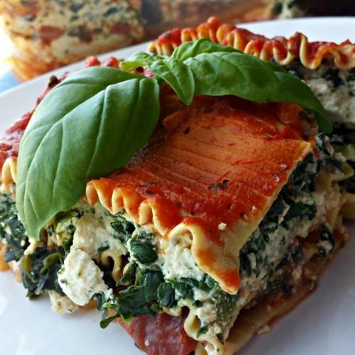 Vegan Spinach Tofu Lasagne Recipe