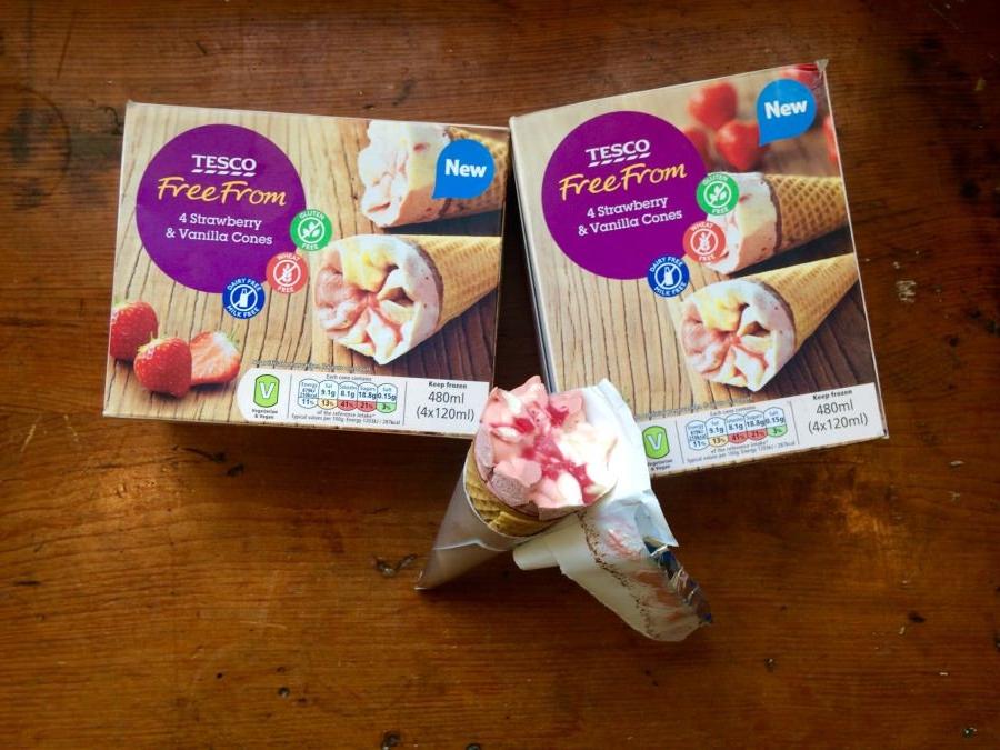 Tesco Vegan Ice Cream Cones