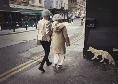 Spotted in Dublin! Dumped Fur Coats Return as 'Ghosts' of Murdered Animals