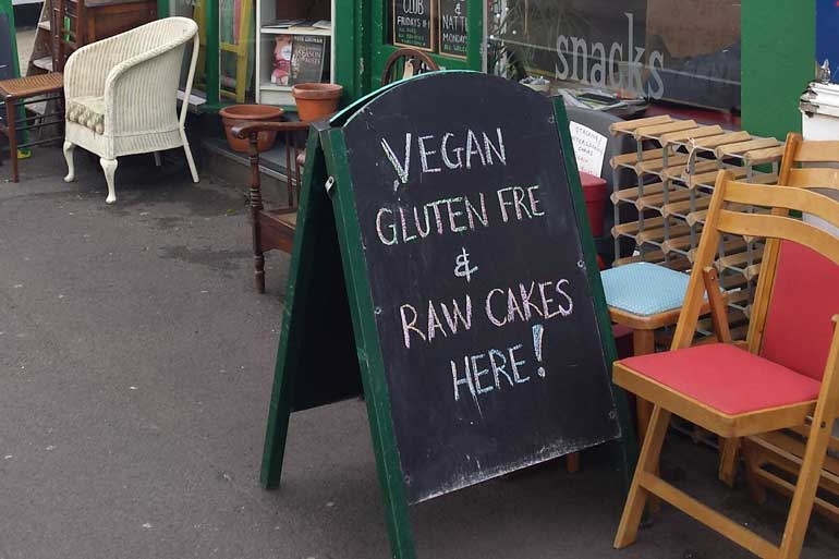 Crooked book vegan Bournemouth