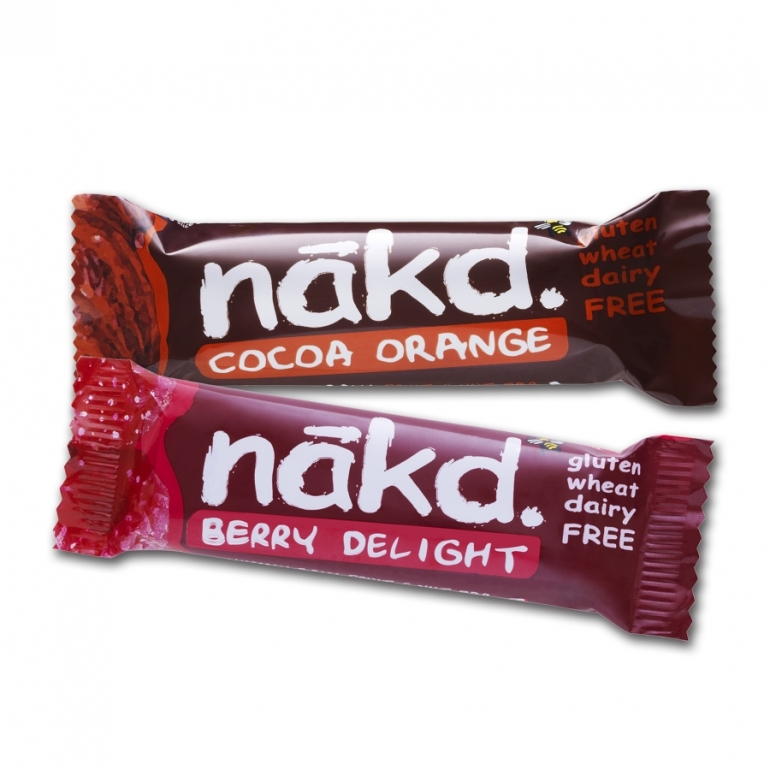 Nakd Bars Berry Orange
