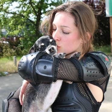 Cassandra Faye Vegan Stunt Rider