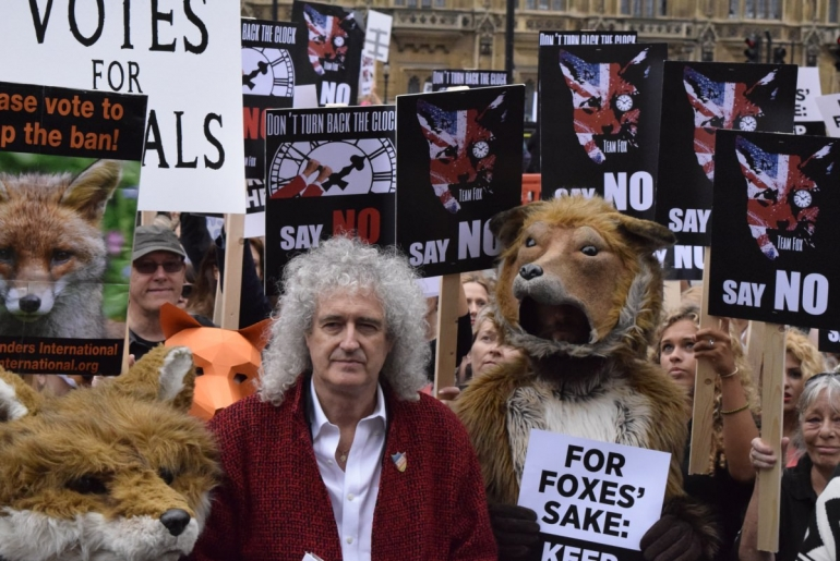 Fox Hunting Protest Brian May_mini