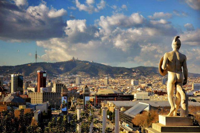 Barcelona panorama CC0