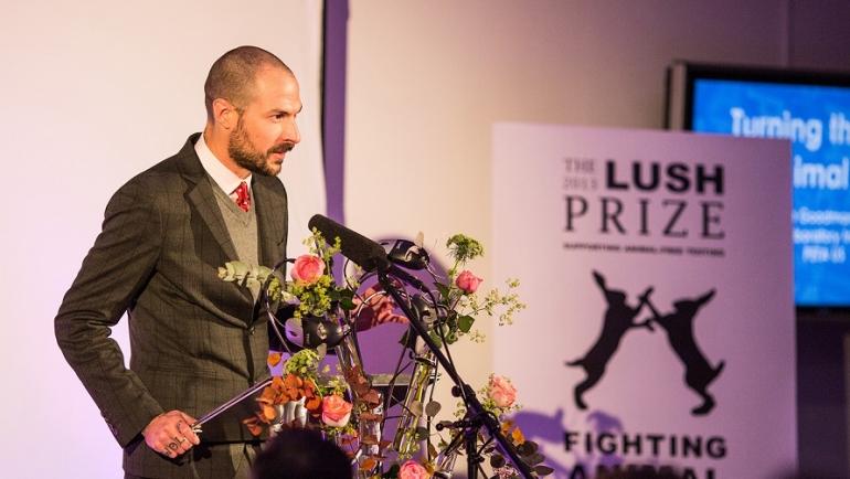 Justin Goodman Lush Prize