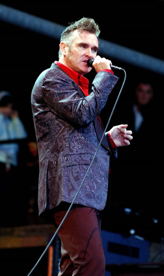 Morrissey speaks out for beagles with PETA