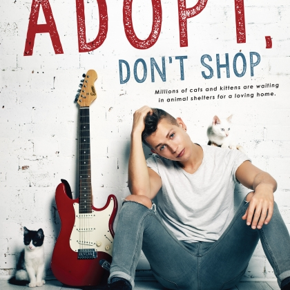 What's Cuter Than The Vamps' James McVey? James Plus Kittens, For PETA!