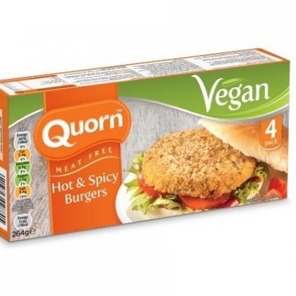 Quorn Launches Vegan Line