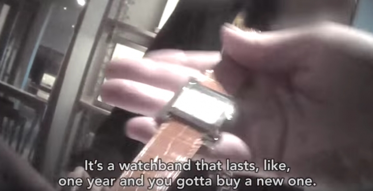 Watch strap screenshot