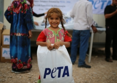 Inditex Donates Thousands of Angora-Wool Clothing Items to Refugees in Iraq