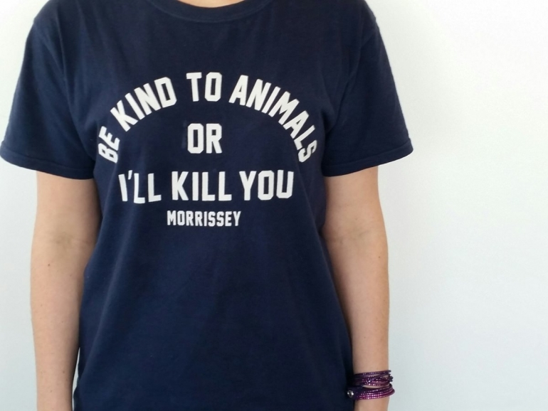 Morrissey Be Kind to Animals Tee